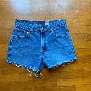 Vintage Levi Distressed Shorts